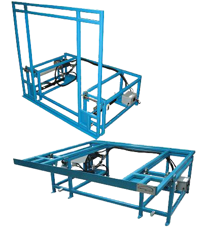 tilting lift table